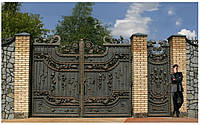 Кованые ворота (Фортеця)