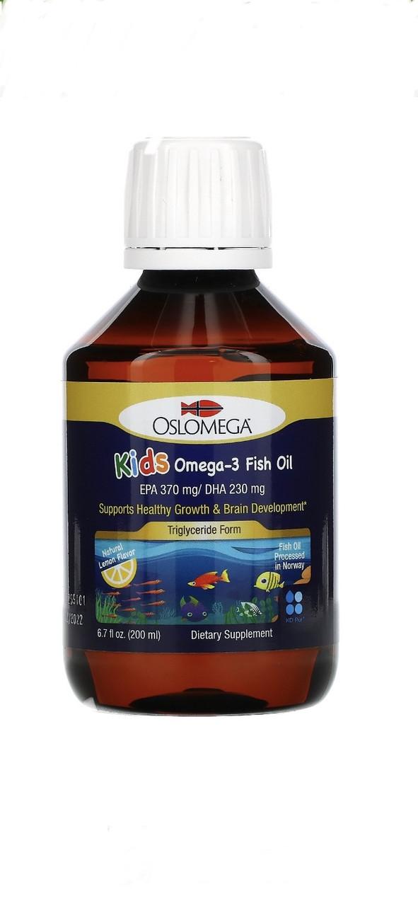 Риб'ячий жир з омега -3 для дітей