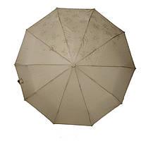 Жіночий парасольку Bellisimo напівавтомат на 10 спиць Бежевий (461-1), фото 1
