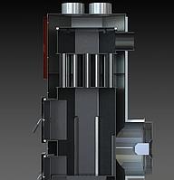 Твердотопливный теплогенератор АДЕС ТГ 35,70 кВт (воздушный котел)