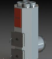 Твердотопливный теплогенератор АДЕС ТГ-70 кВт (воздушный котел)