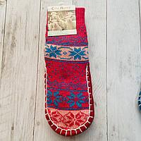 Шкарпетки дитячі з підошвою розмір 32-35 18 см