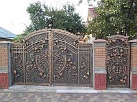Кованые ворота и ограздения