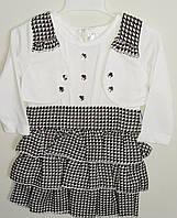 Платье для девочек с болеро
