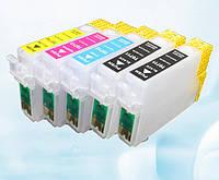 Комплект перезаправляемых картриджей OEM Epson (T0711(2)-T0714) D120/BX310FN