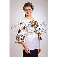 Бисерная заготовка женской сорочки