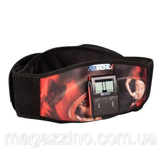 """Пояс для схуднення, масажер для тіла, тренажер міостимулятор """"ABTronic X2"""", Абтронік. З гелем."""