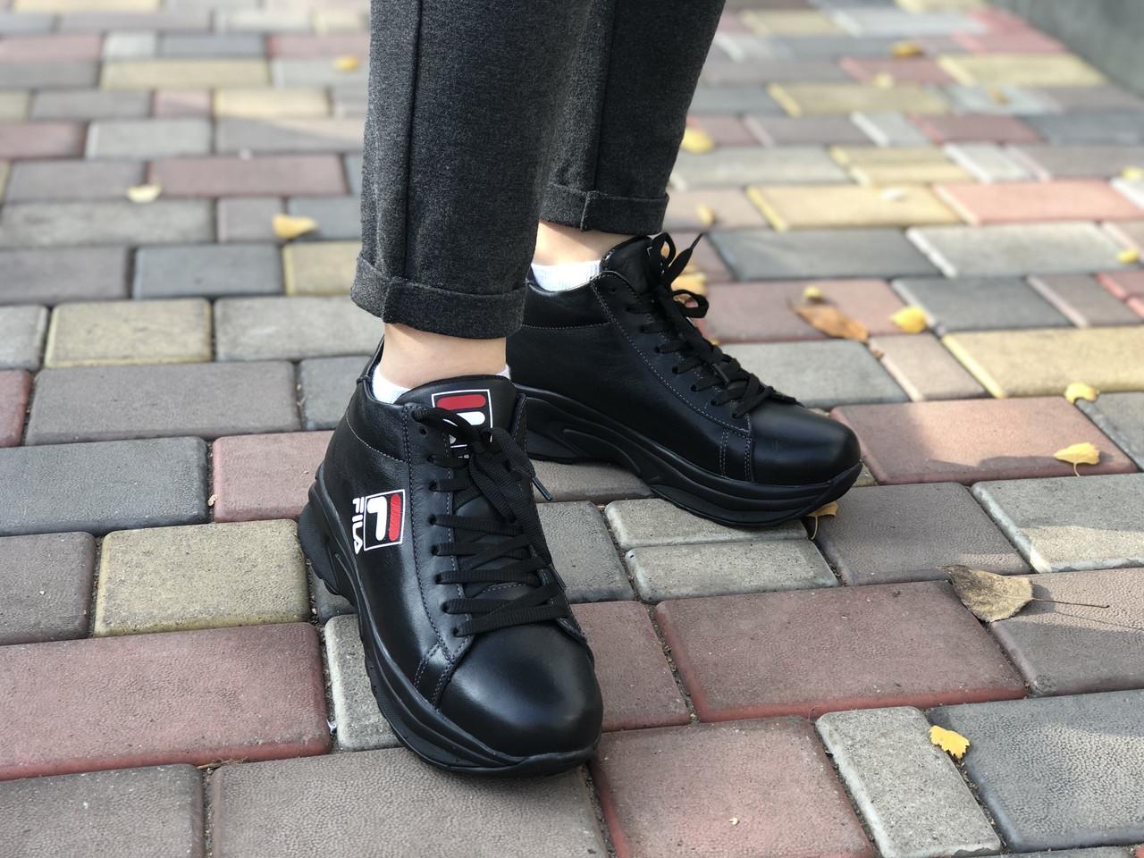 Кожаные Женские кроссовки зима Lions F 3 ч/к размеры 36,37