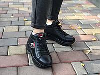 Кожаные Женские кроссовки зима Lions F 3 ч/к размеры 36,37, фото 1