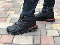 Кожаные мужские кроссовки Extrem 29 ч/кр размеры 40,41,42,43,44, фото 1