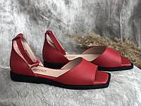 Кожаные женские босоножки Маріні 211 кр размеры 36,37,38,39,40, фото 1