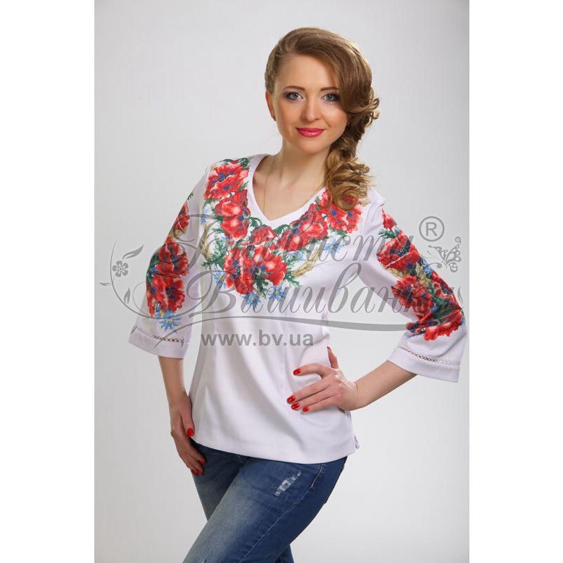 Бисерная заготовка женской сорочки - интернет-магазин