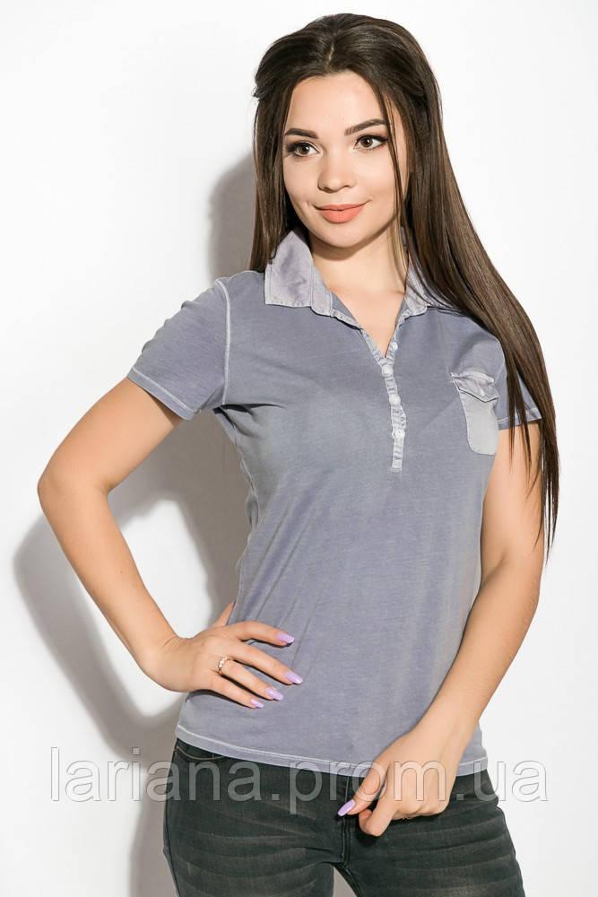 Поло жіноча 516F439-1 колір Бузковий варенка