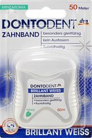 Нитка Dontodent Zahnband Brillant Weiss, 50 m