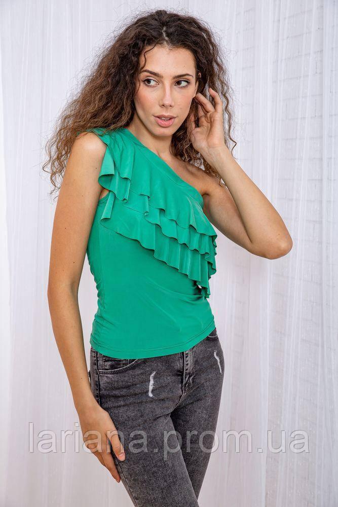 Блуза 167R003-1 цвет Зеленый