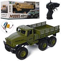 Игрушечный грузовик на радиоуправлении 584A+(Green) зеленый