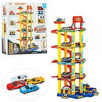 Детский игрушечный Гараж P8788A-2 с машинками
