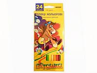 Олівці кольорові 1010-24 Marco Пегашка
