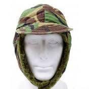 Зимние шапка на меху, в расцветке  DPM. Британске ВС, оригинал.