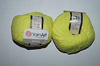 YarnArt Jeans - 58 желтый неон