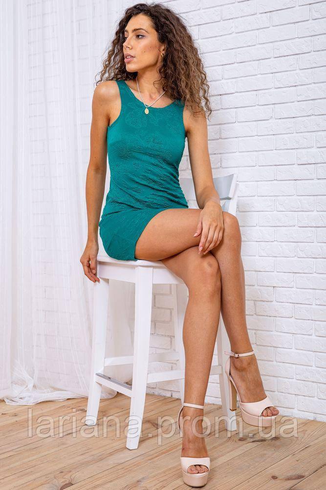 Платье 167R24-4 цвет Зеленый