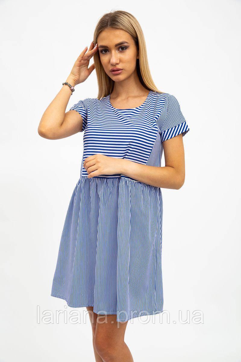 Платье женское 112R495 цвет Синий