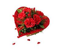 Сердце из конфет Для любимой