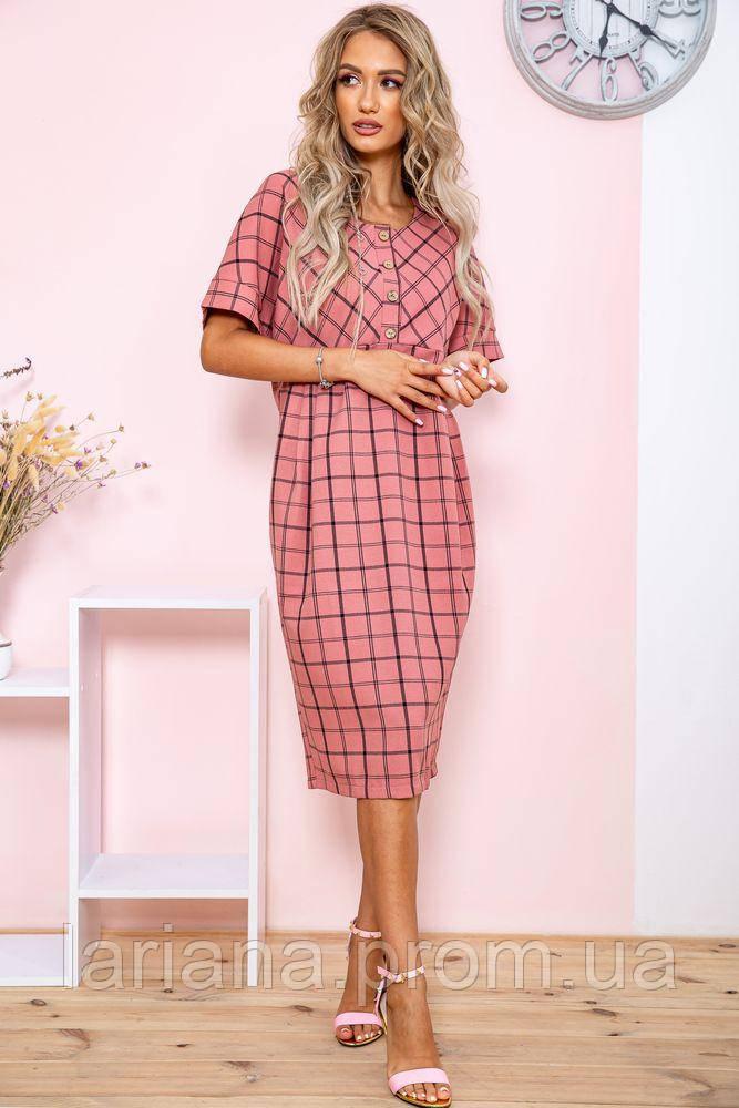 Сукня 150R654 колір Темно-рожевий