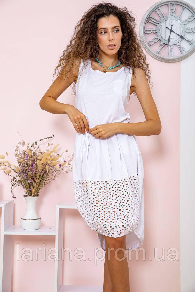 Платье 167R008-1 цвет Белый