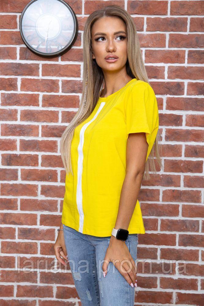 Футболка жіноча 102R217 колір Жовтий