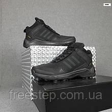 Чоловічі зимові кросівки в стилі Adidas Terrex чорні високі