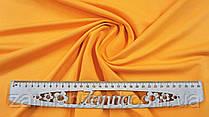 Ткань двунитка цвет желто-оранжевый (Турция)