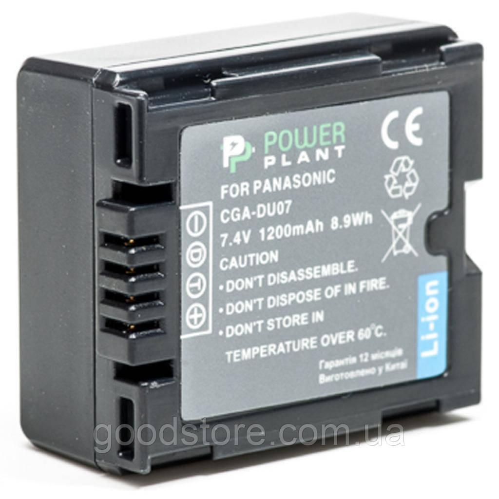 Акумулятор до фото/відео PowerPlant Panasonic VW-VBD070, CGA-DU07 (DV00DV1339)