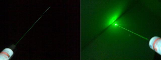 Зелений лазерний покажчик