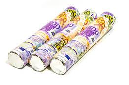 Пневматична хлопавка євро+конфеті 40 див.