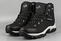 Ботинки мужские черные Bona 856D-6 Бона Размеры 41 42 43 44 45 46, фото 1