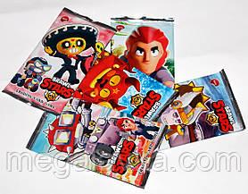 Картки з героями Бравл Старс Brawl Stars в упаковці 8 шт
