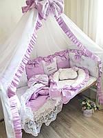 "Комплект в дитяче ліжечко ""Бузок"", фото 1"