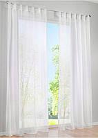 Декоративные шторки из шифона, на петлях (Белая)