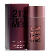 Духи мужские Carolina Herrera 212 Sexy Men (Каролина Эррера 212 секси мэн, фото 1
