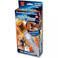 Прибор для стачивания когтей у котов и собак Pedi Paws, триммер, когтеточка Педи Повз, фото 1