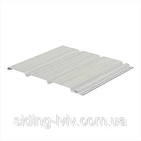 Софіт Galeco білий для підшивки даху 4 м х 0.295 см перферований /не перферований (підшивочний софіт)