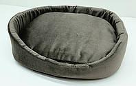 Лежак для собак і котів Мрія коричневий