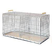 Клітка вольєр для собак Вовк дует 550*1000*490 мм