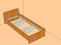 Кровать односпальная 1,9*0,8 СТАНДАРТ (усиленная) под заказ Мелитополь