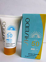 Солнцезащитный крем Shiseido Perfect Sparkle Sunscreen SPF 50 PA +++