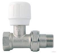 294 1/2 Кран для радиатора с накидной гайкой, прямой вентильный (ITAP)