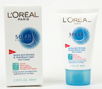 Солнцезащитный крем для лица и декольте L'OREAL SOLAR EXPERTISE Anti-Rides & Anti-Taches SPF/UVB 50