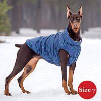 Жилет утеплений для собак DIEGO sport 7/7 зірка, розмір 7 - довжина спини - 48-60см, обхват грудей 72-88,