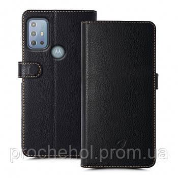 Чехол книжка Stenk Wallet для Motorola Moto G20 Черный